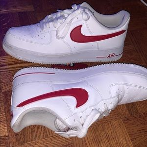 Air Force 1 (low) white/red